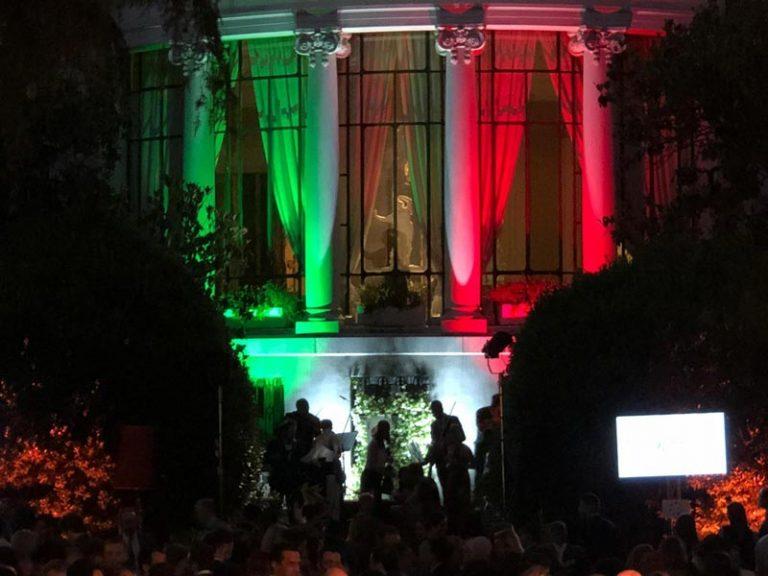H.E. Dr. Dario Item attends the reception for the Festa della Repubblica in Madrid