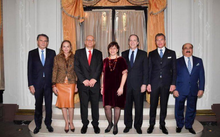 Isabelle Rosabrunetto receives Ambassador Dario Item